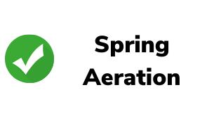 Spring Aeration