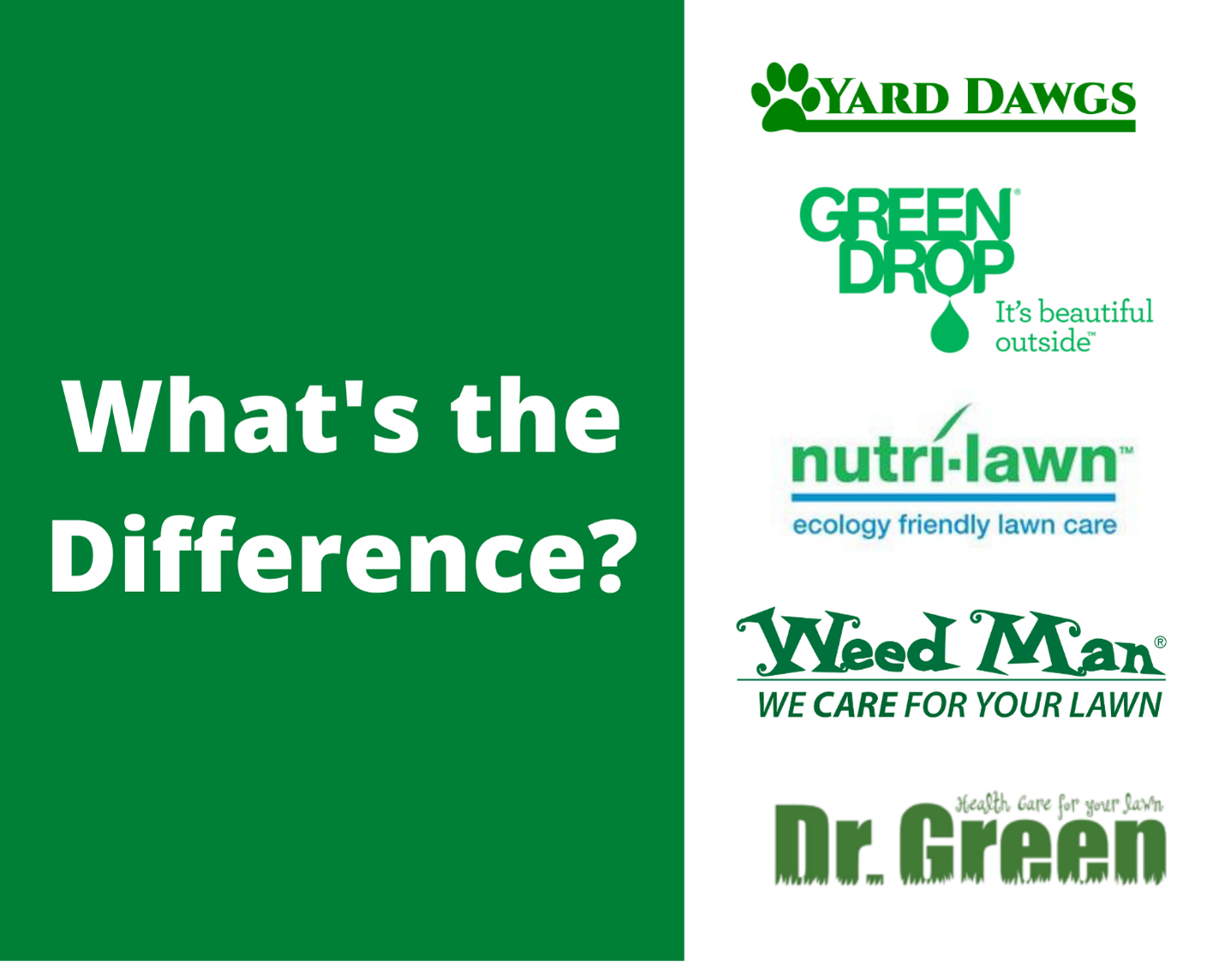 Blog: How Do The Big 5 Lawn Care Companies Compare in Calgary?